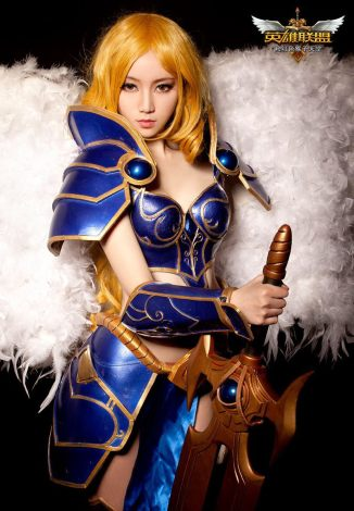 LoL Cosplay | The Great Warrior in League of Legends